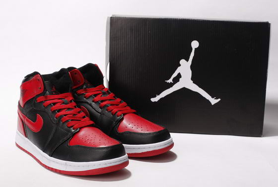 Air Jordan I New Shoes Wine red/Black