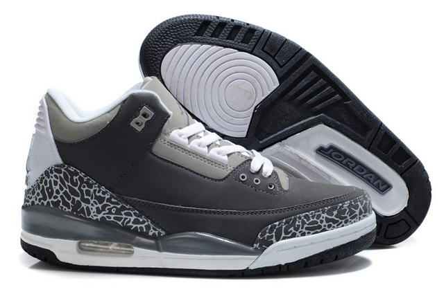 Air Jordan III Shoes WOLF GREY