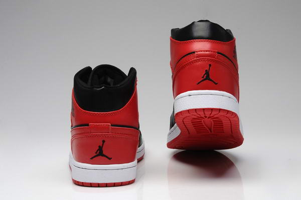 Air Jordan 1 New Color Shoes Red/Black
