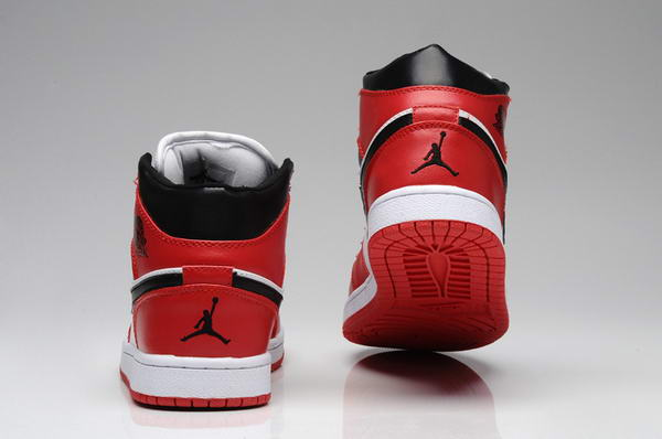 Air Jordan 1 New Color Shoes Red/Black/White
