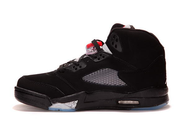 Air Jordan 5 New Color Shoes Black/White