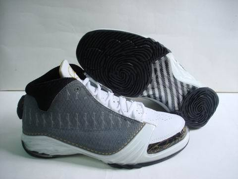 Air Jordan 23 Shoes Black/White