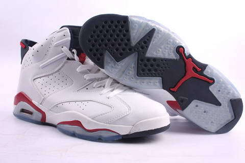 Air Jordan 6 Retro Shoes White