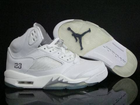 Air Jordan 5 Retro Shoes White