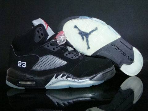 Air Jordan 5 Retro Shoes Black