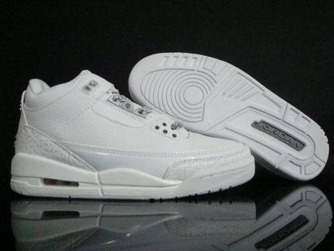 Air Jordan 3 Retro Shoes White