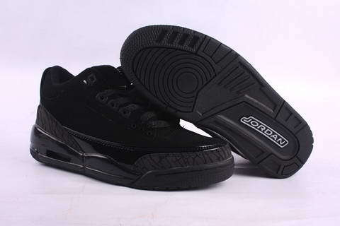 Air Jordan 3 Retro Shoes Black