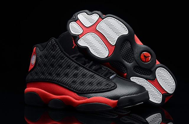 Air jordan 13 Shoes Black/Red
