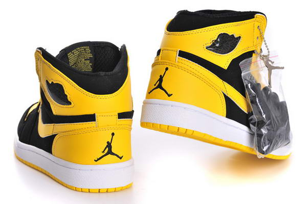 Air Jordan 1  Retro Shoes Yellow/Black