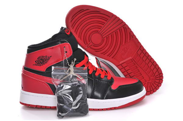 Air Jordan 1 Retro High OG Black Varsity Red Shoes Black/Varsity Red White