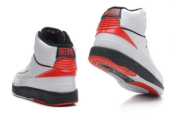 Air Jordan 2 2010 release Shoes white/red black