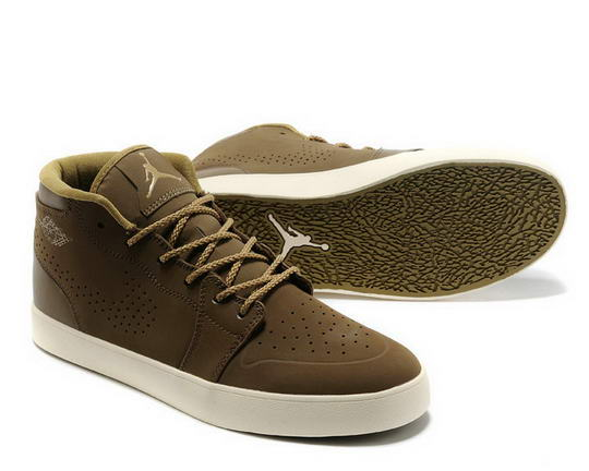 Air Jordan V1 Chukka A light olive hazel natural Shoes Tan/Gold white