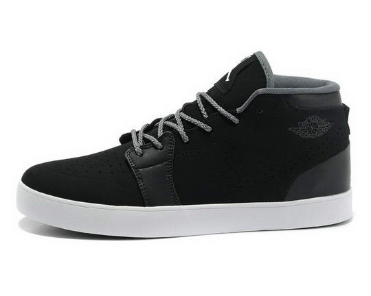 Air Jordan V1 Chukka Casual shoes black/white gray