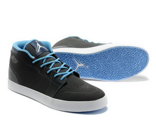 Air Jordan V1 Chukka Casual shoes black/blue white