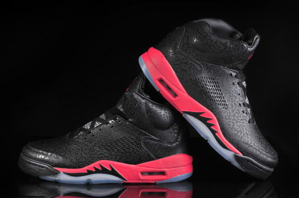 Air Jordan 5 3LAB5 Shoes black/red white