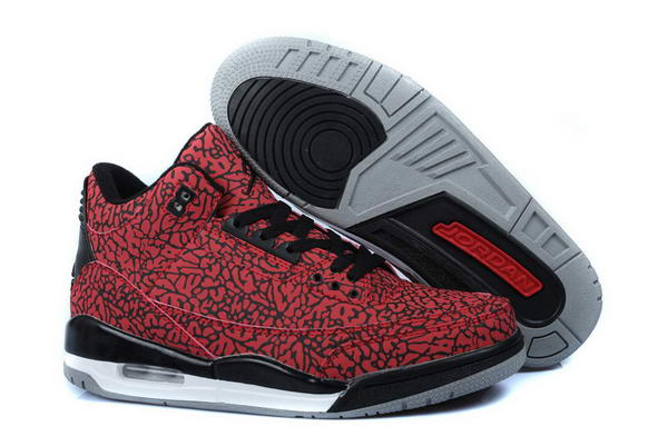 Air Jordan 3LAB5 Retro Shoes red/black white