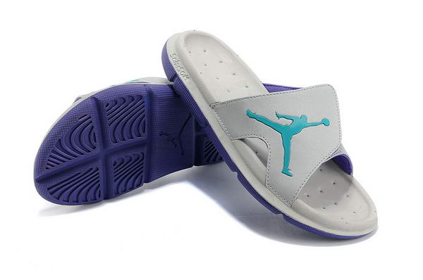 Air Jordan Sandals Shoes gray/blue