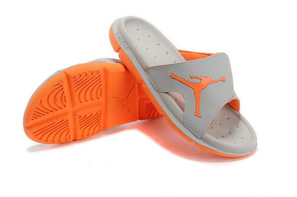 Air Jordan Sandals Shoes gray/orange