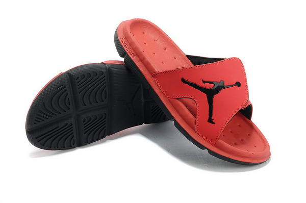 Air Jordan Sandals Shoes red