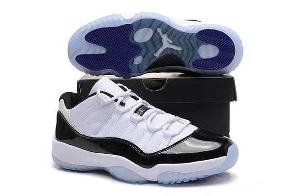 Air Jordan 11 Low Retro Shoes White/black