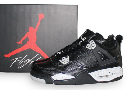 Air Jordan 4 Oreo Shoes Oreo Black/gray