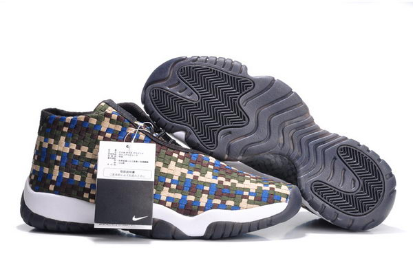 Air Jordan Future Shoes Khaki/blue white