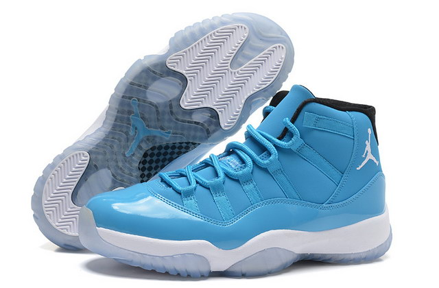 Air Jordan 11 Pantone Shoes Ultimate Gift Of Flight Blue/white