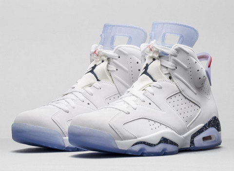 Air Jordan 6 Retro Shoes White/black
