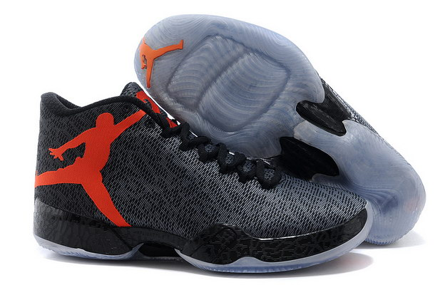 Air Jordan XX9 Shoes black/jumpman red