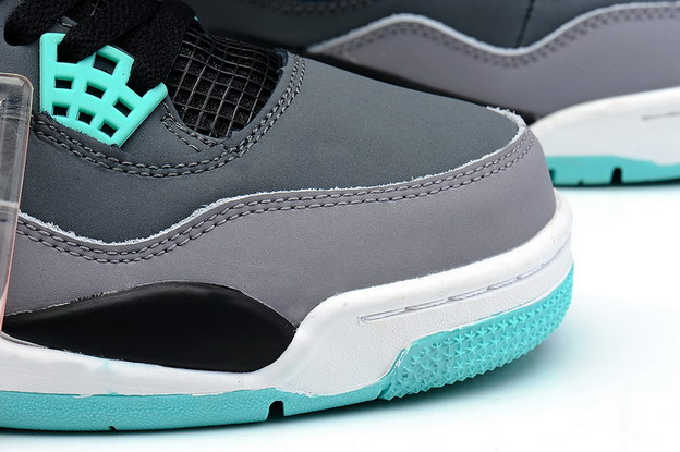 Air Jordan 4 Retro Shoes Prairie Green/black