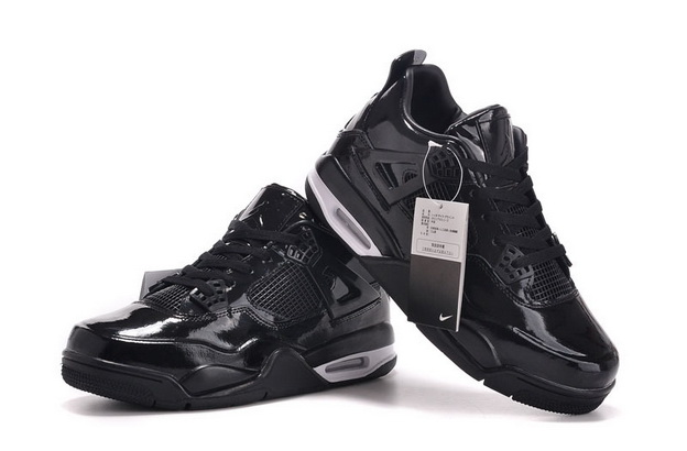Air Jordan 11Lab4 Shoes Black/white