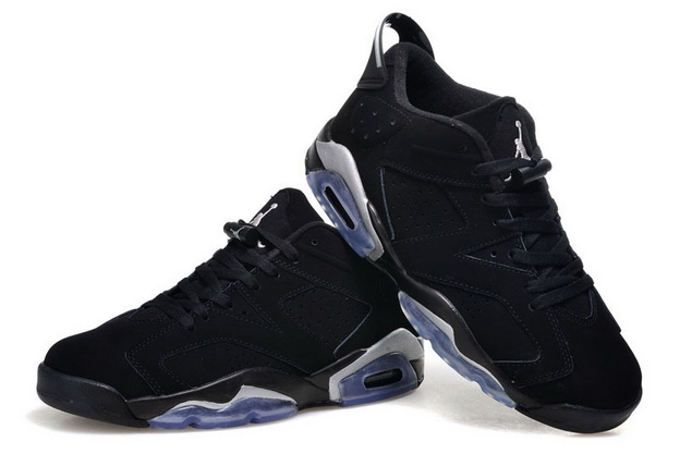 Air Jordan 6 Retro Low Shoes Black