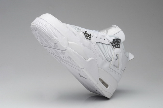 Air Jordan 4 Retro Shoes White
