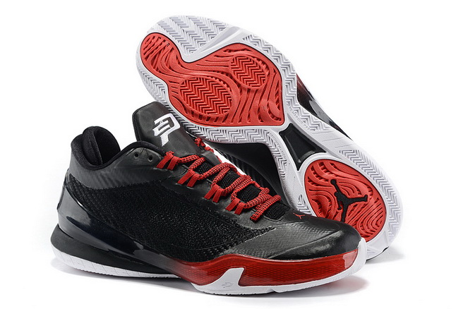 Jordan CP3 VIII Shoes Black/red
