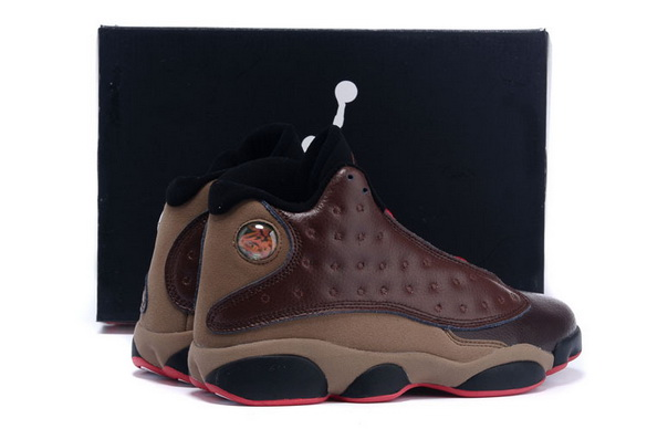 Air jordan 13 Retro Shoes Coffee/brown