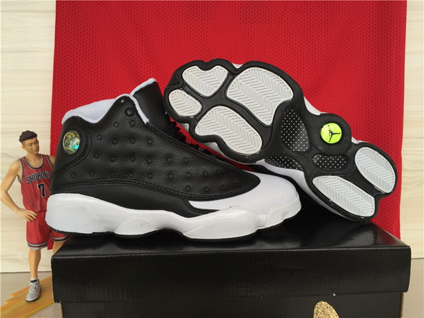 Air jordan 13 Oreo Shoes Black/White