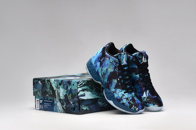 Air Jordan 29 Retro Shoes Blue/Black