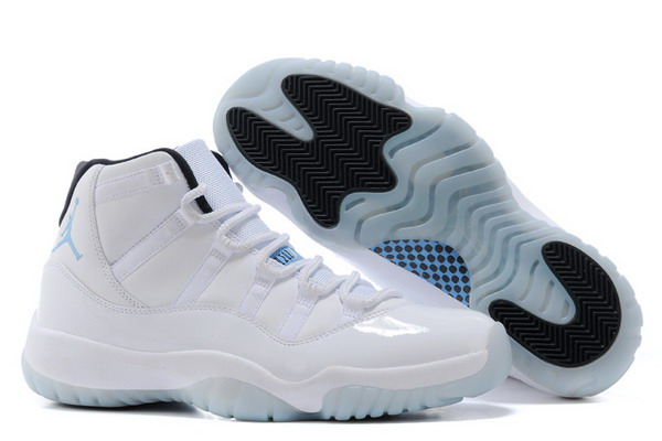Air Jordan 11 Colombia Shoes White/Blue Black