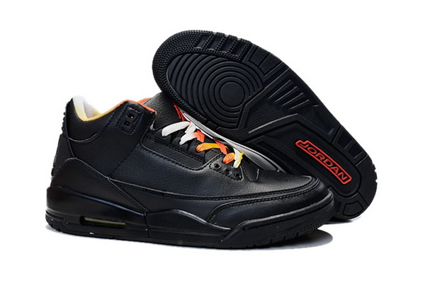 Air Jordan 3 Retro Shoes All black - Click Image to Close