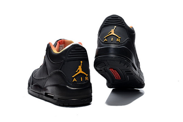 Air Jordan 3 Retro Shoes All black