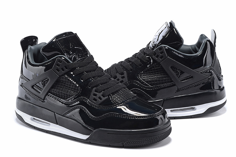 Air Jordan 4 11lab4 Shoes Black/white