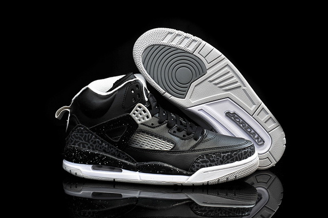 Air Jordan 3.5 Spizike Retro Shoes Black/grey