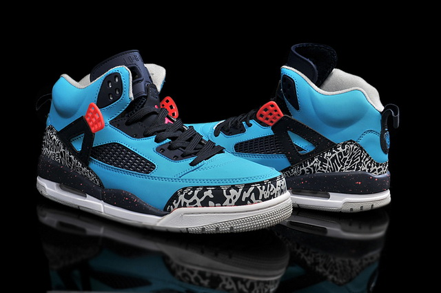 Air Jordan 3.5 Spizike Retro Shoes Blue/black red