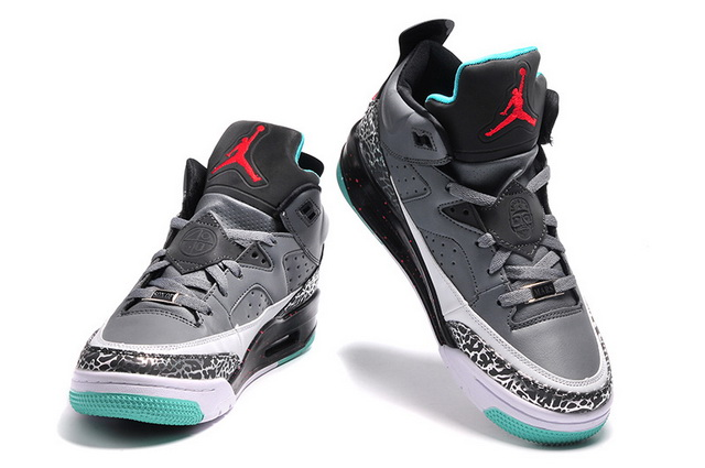 Jordan Son of Mars Low Shoes Grey/white red green