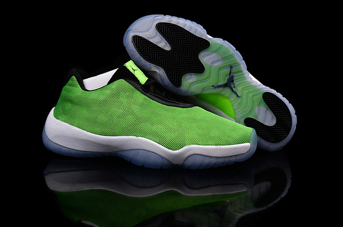 Jordan Future Burgundy Camo Shoes Green/white black