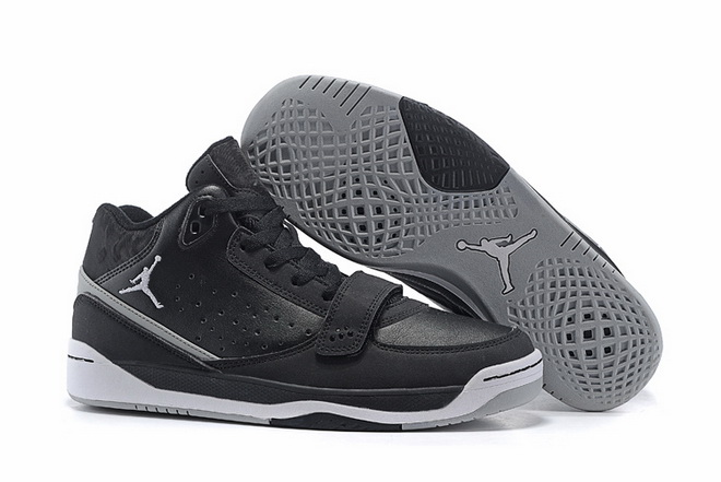 Air Jordan Phase 23 Classic Shoes Black/grey