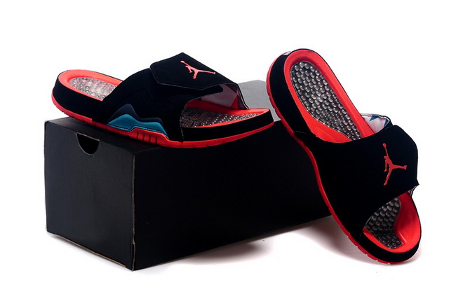 Jordan Hydro VII Retro Shoes Black/red blue