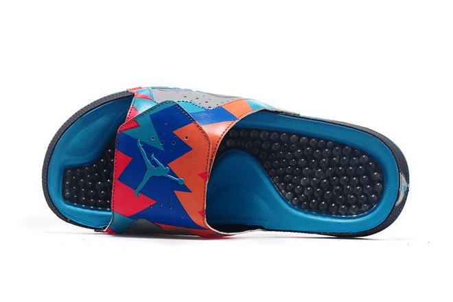 Jordan Hydro VII Retro Shoes Blue/orange black