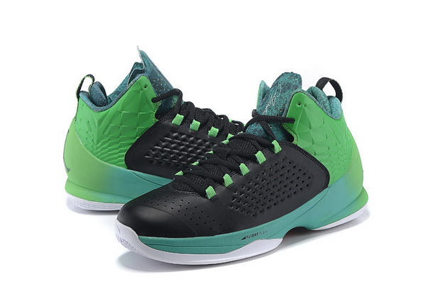 Jordan Melo M11 X Shoes green/black white