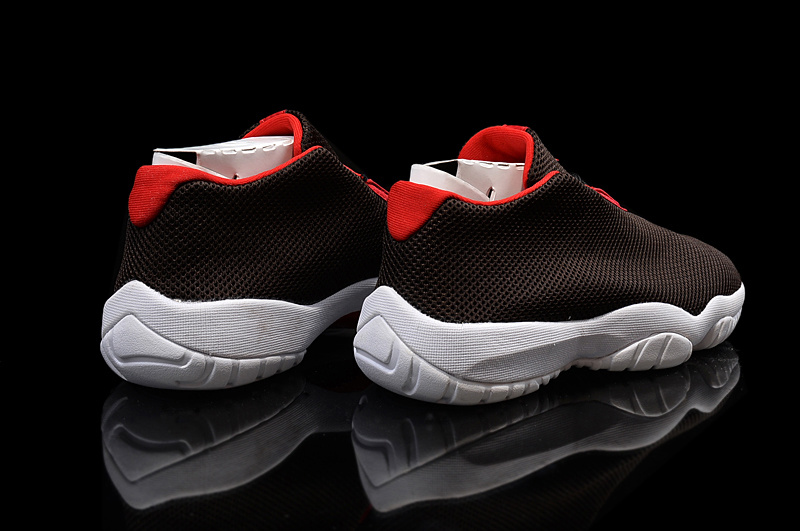 Air Jordan Future Low Shoes Brown/red white